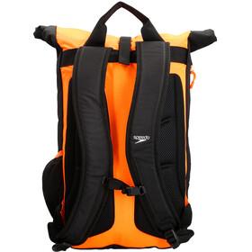speedo Team III Backpack 30l, black/fluo orange